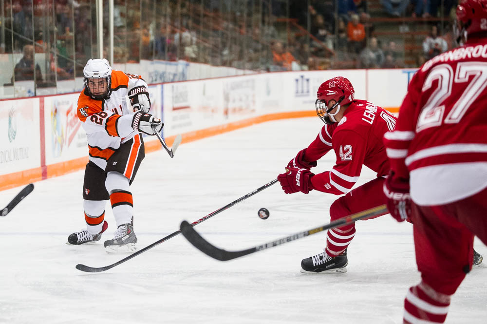 (Updated) Falcons move into USCHO Top 20