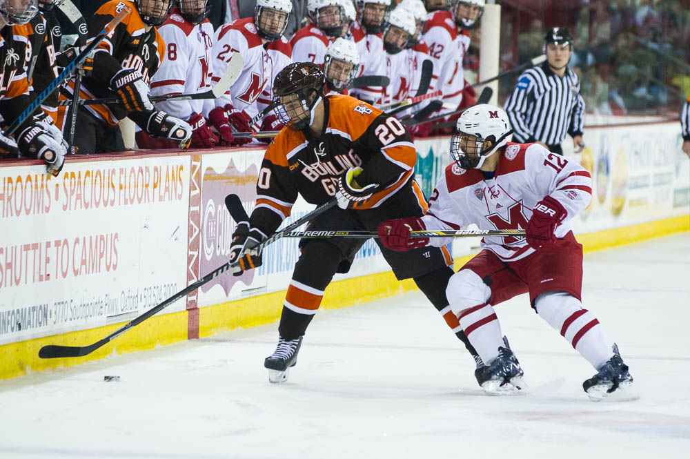Thursday Notebook: Sophomore line contributes offensively