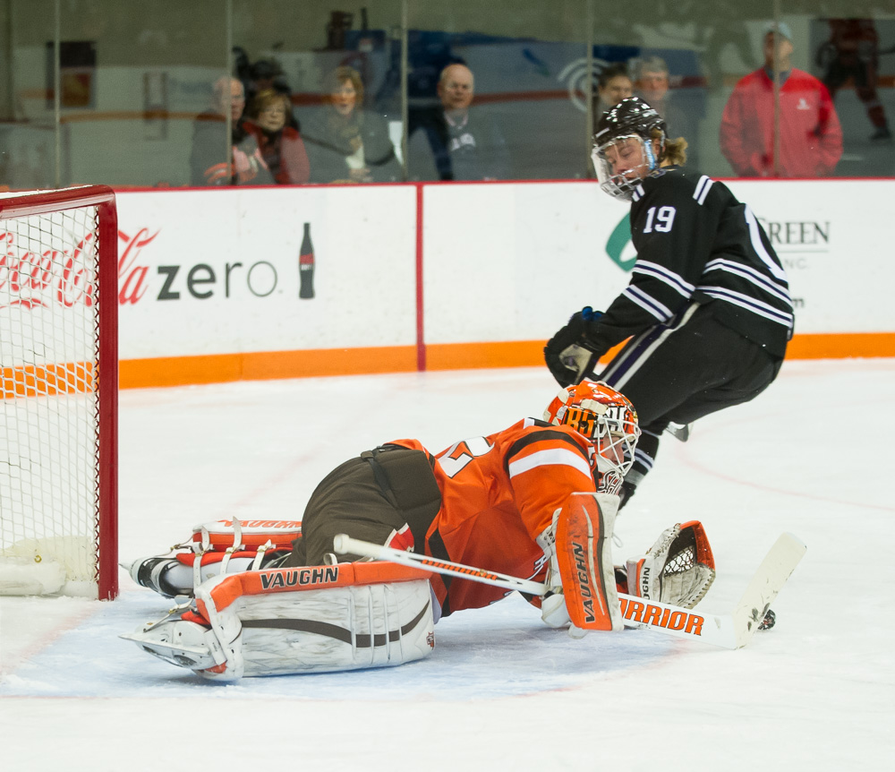 Notebook: Burke was BG's most consistent goalie