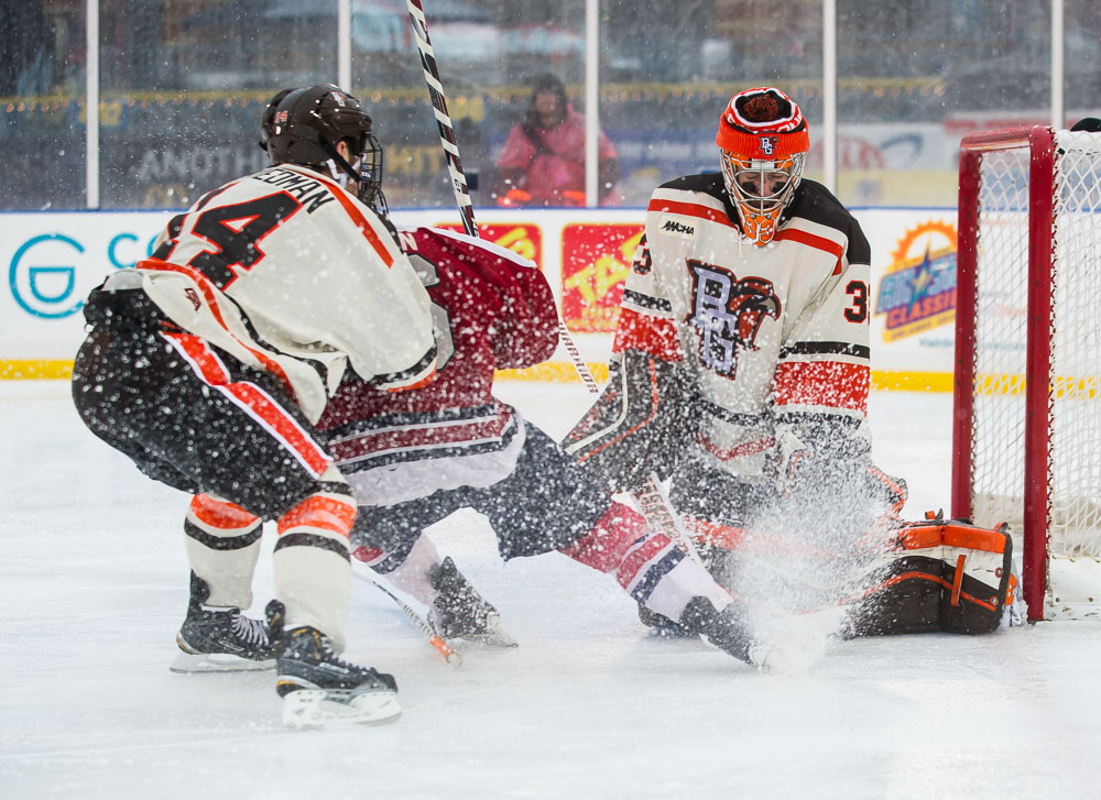 Colonials Rally Late to Tie Falcons at Winterfest