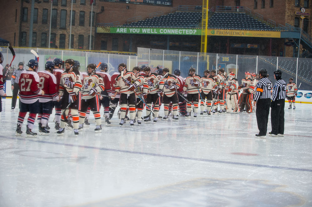 Falcons, Colonials enjoyed outdoor game
