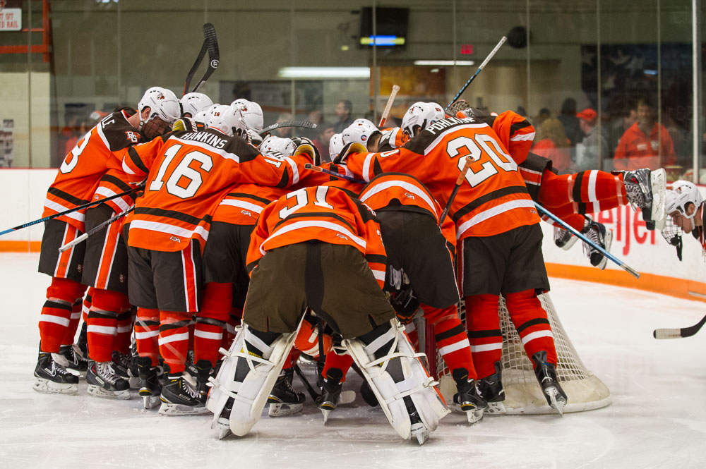 Notebook: On-ice success helps BG's recruiting