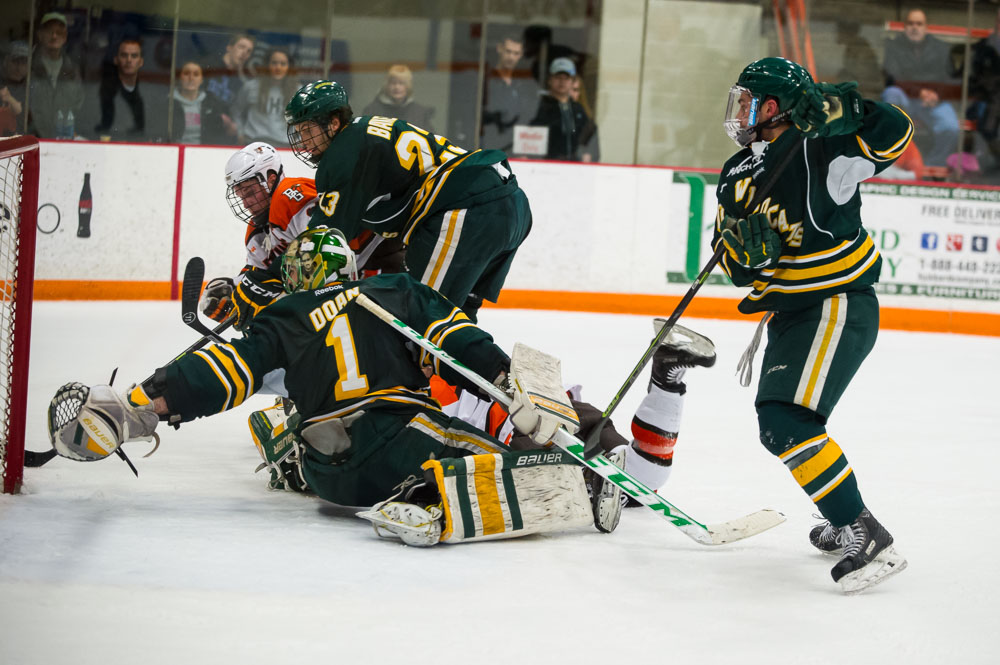 Falcons Take Thriller from NMU, 3-2, in Overtime