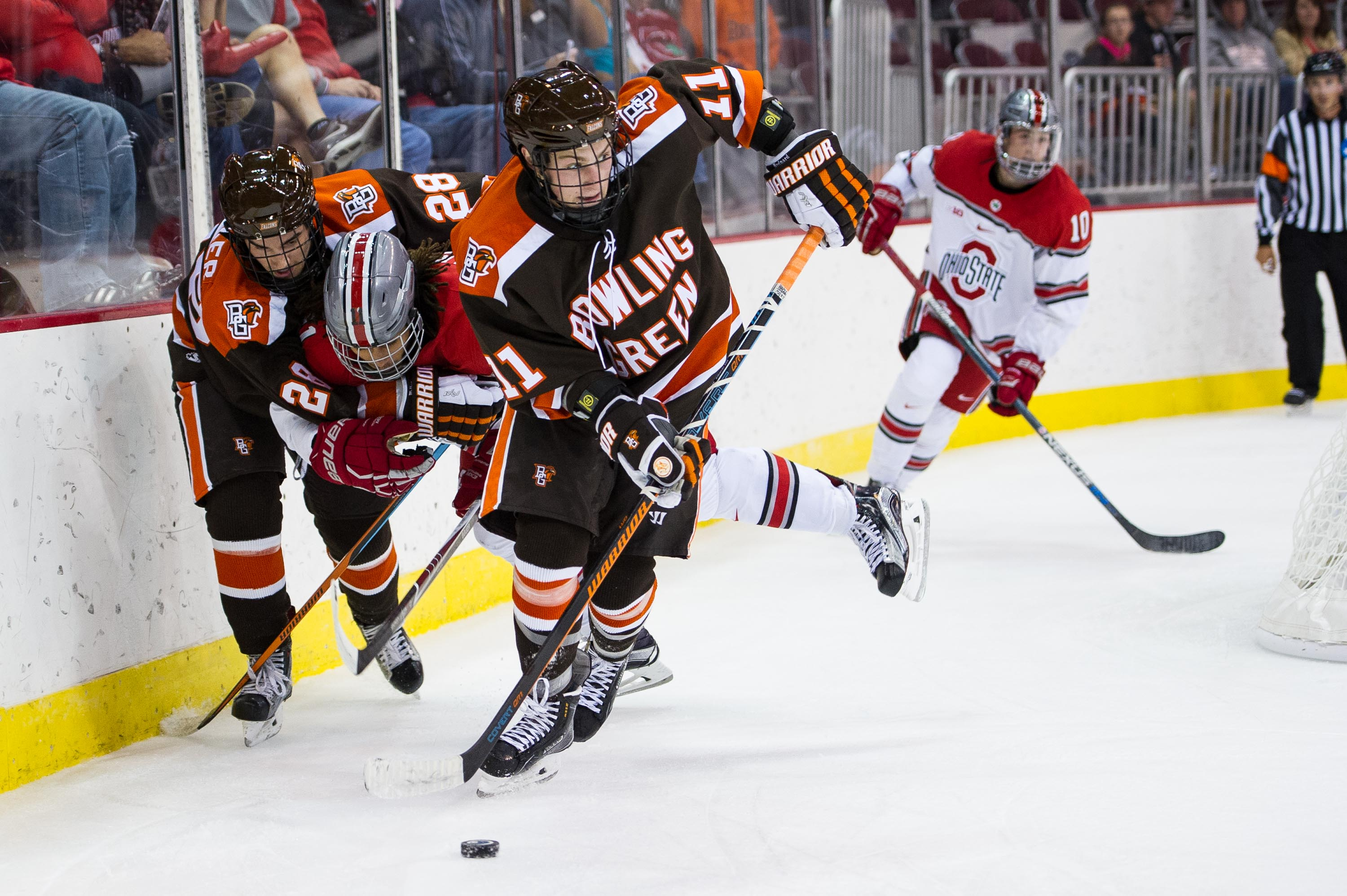 Falcons Double Up Buckeyes in 6-3 Win