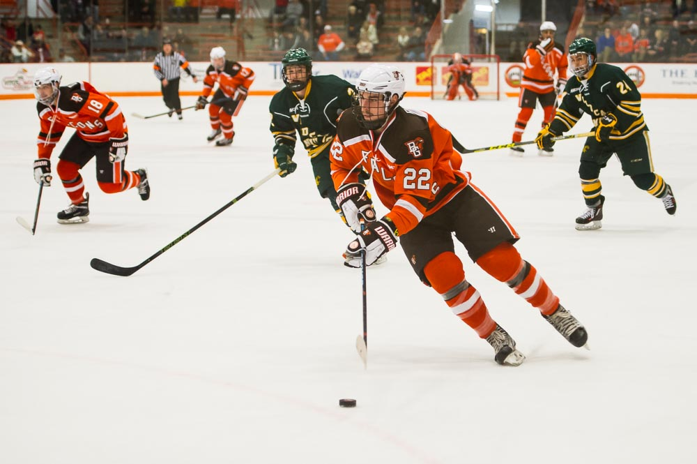 Post-Game Extra: Falcons finish sweep on McLain's OT goal