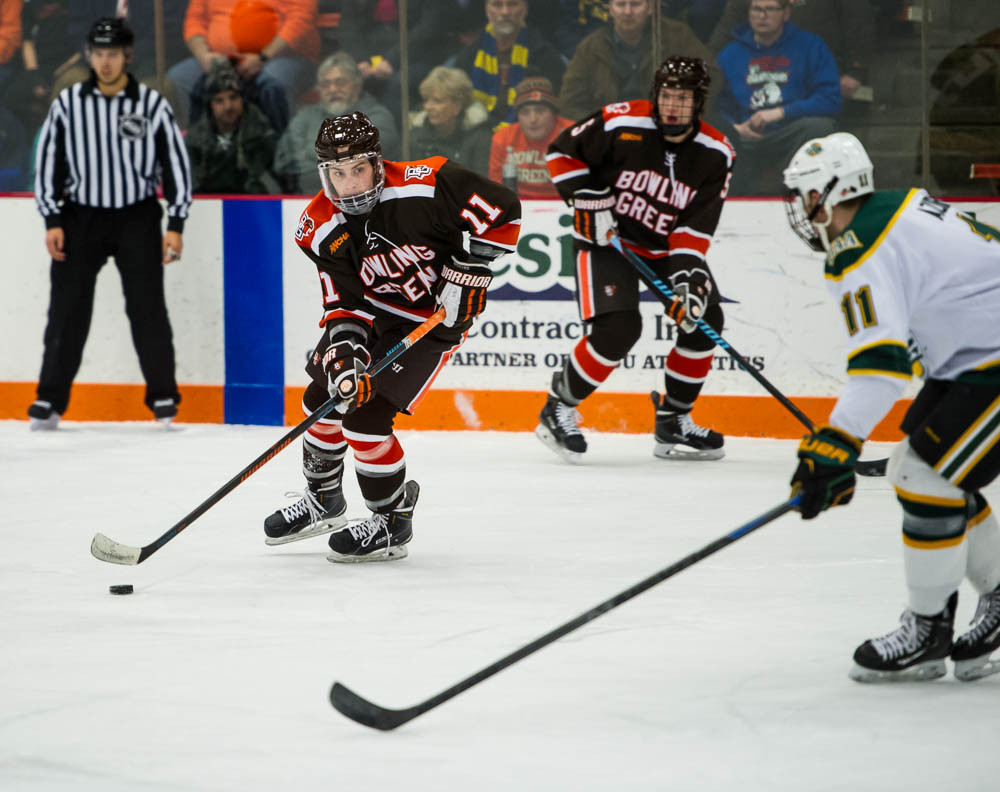 Falcons remain 18th in USCHO poll