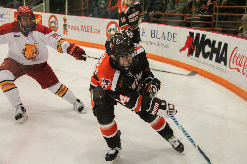BG can clinch home ice with win or tie against Ferris on Saturday