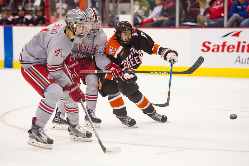 Falcons fall 6-1 to Buckeyes, remain winless on season