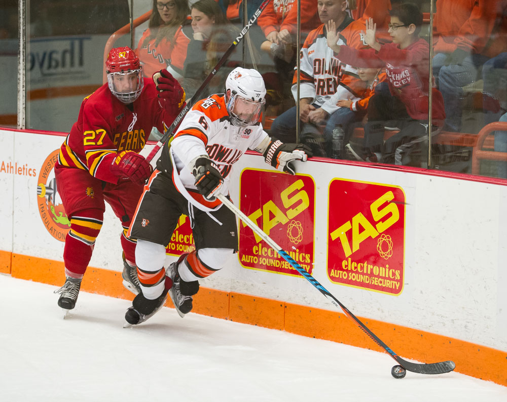 Falcons' McLain honored by WCHA