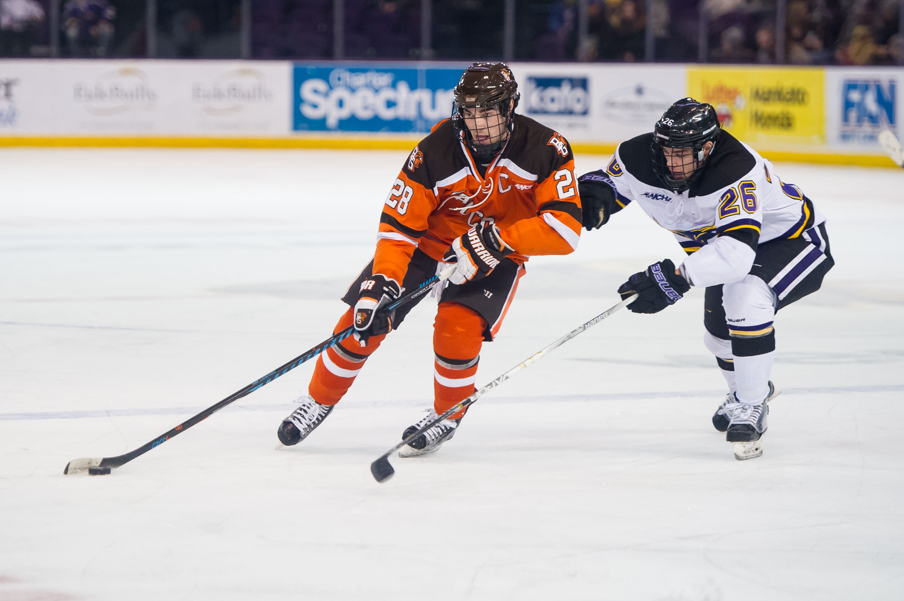 MSU scores four straight to down Falcons 5-3
