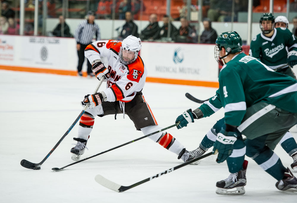 McLain named first-team All-WCHA