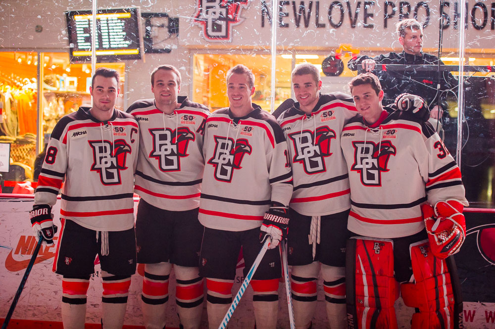 BG seniors leave winning legacy on and off the ice