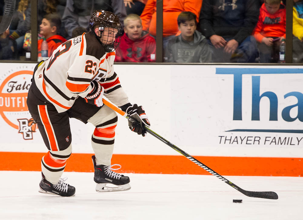 Five Falcons recognized on All-WCHA teams