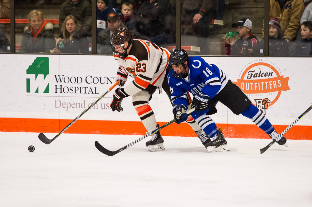 Falcons picked to finish second, third in WCHA preseason polls