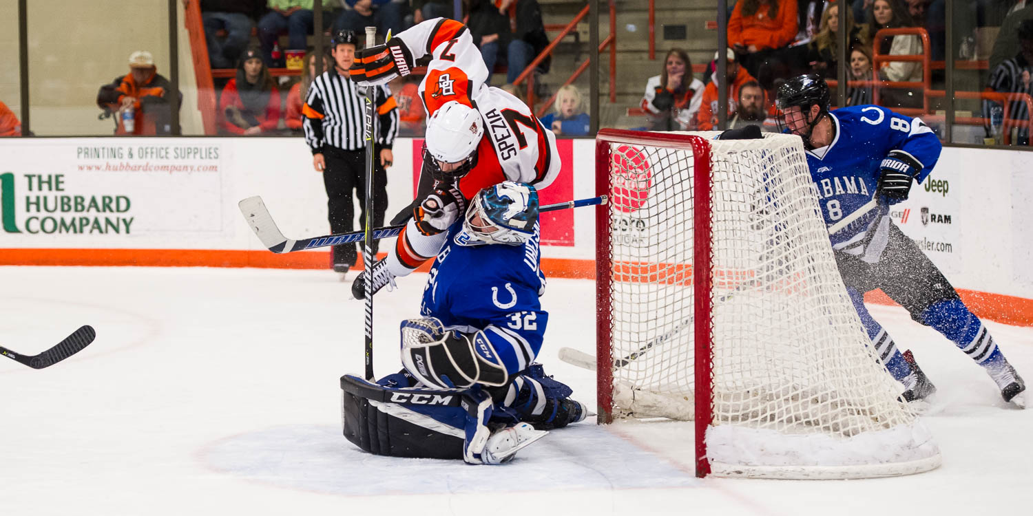 BG skates to sixth tie of season in 3-3 stalemate with UAH