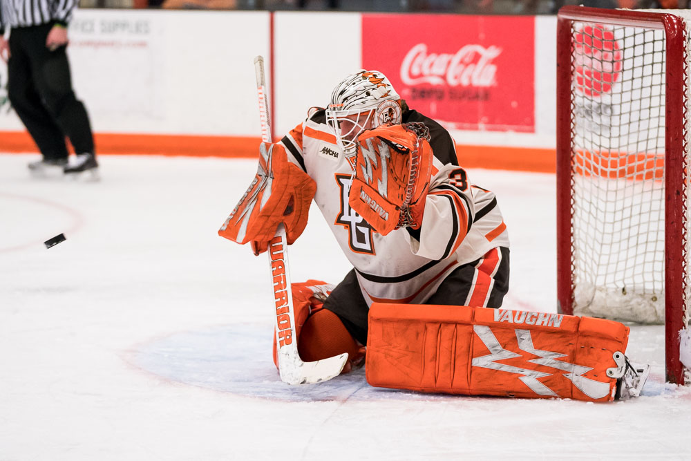 Bednard shuts out Wildcats in 1-0 win to force deciding game three